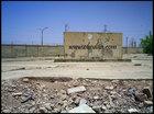 خرابه های سینما روباز بهمنشیر در منطقهء بهمنشیر آبادان که متعلق به کارگران شرکت نفت و خانواده های آنان بود