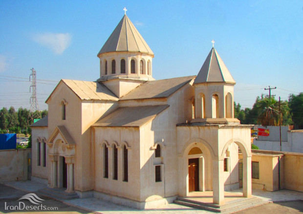 کلیسای ارامنه' آبادان(کلیسای قاراپت مقدس)