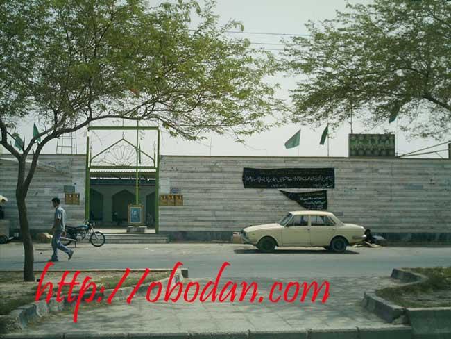 زیارتگاه سید عباس پیش از بازسازی