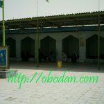 رواق داخلی زیارتگاه سید عباس در آبادان