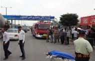 حادثه رانندگی در آبادان منجر به فوت عابر پیاده شد