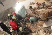 ریزش آوار در آبادان، جان کارگر ساختمانی را گرفت