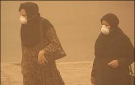 ذرات گرد و غبار شهرستان آبادان به 11 برابر حد مجاز رسید