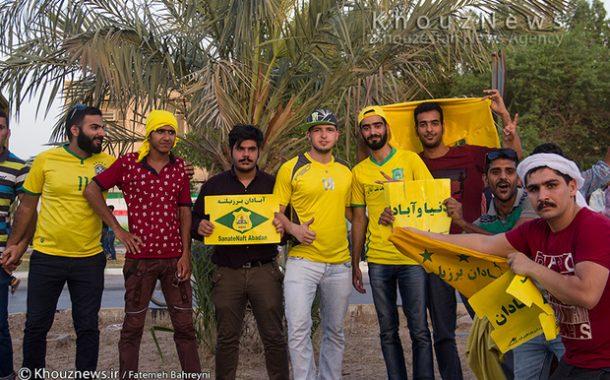 تصاویر شادی مردم آبادان پس از پیروزی تیم صنعت نفت و راهیابی این تیم به لیگ برتر فوتبال کشور(قسمت اول)