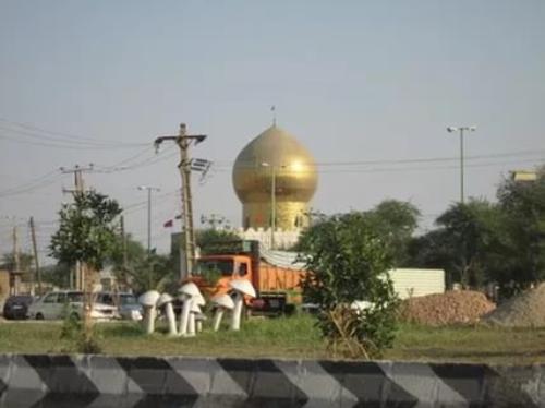 زیارتگاه سید عباس در آبادان و پس از بازسازی