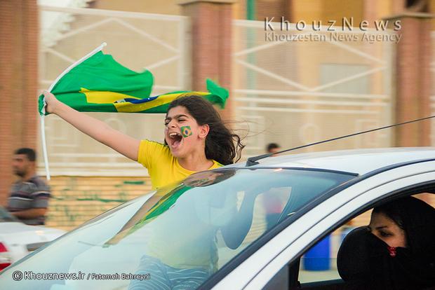 تصاویر جشن پیروزی صنعت نفت آبادان